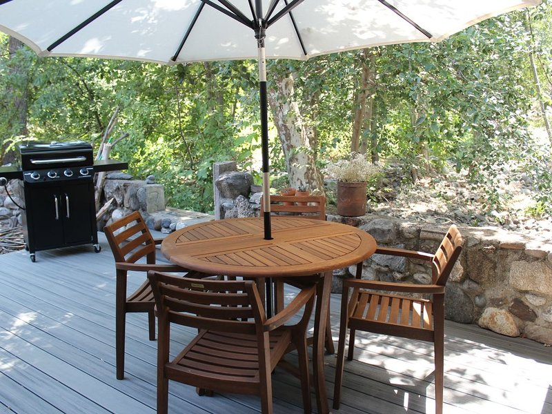 ****The Hidden Gem - On the River ***Perfect for Small Families***, vacation rental in Three Rivers