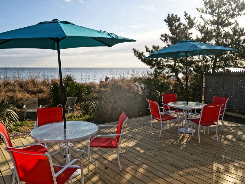 Beach House The Real Thing!  Direct Beachfront!, vacation rental in Norfolk