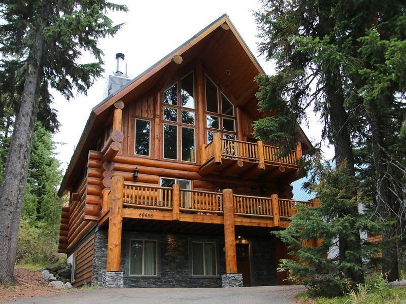UPSCALE!! Government Camp Cabin Home with a Hot Tub, sauna & WiFi!, holiday rental in Government Camp
