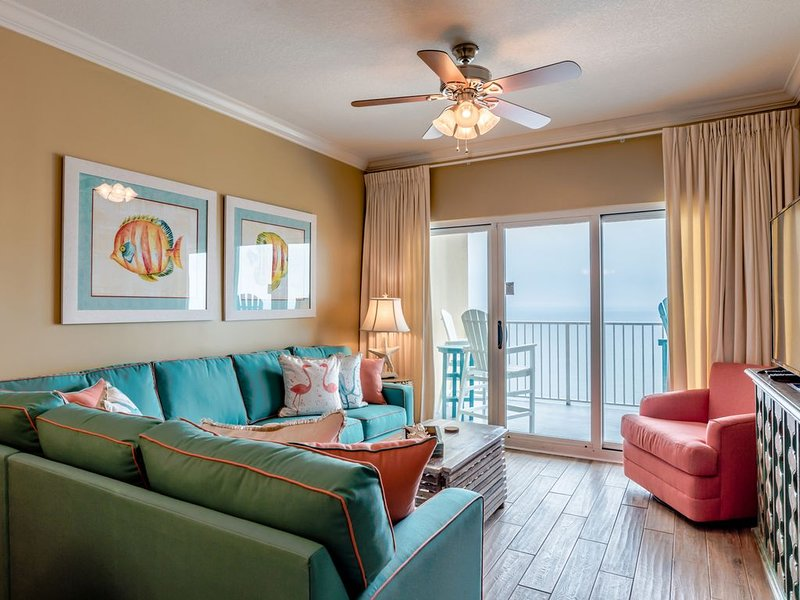 Stunning! Completely remodeled, penthouse level, glorious views! 3/2, sleeps 8!, alquiler de vacaciones en Gulf Shores