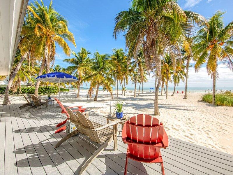 Relaxing, waterfront retreat w/boat dock & amazing ocean views, holiday rental in Long Key