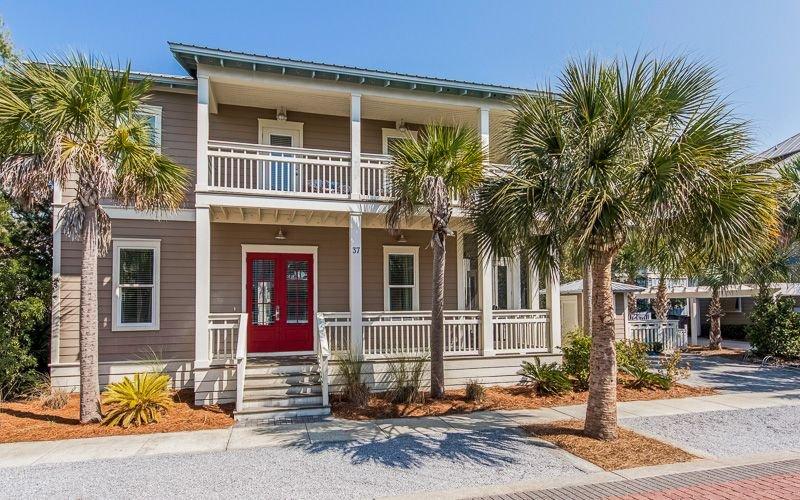 PET FRIENDLY! Private Pool! 4 Bedrooms; 2 King Masters, 4 FREE ADULT BIKES, aluguéis de temporada em Rosemary Beach
