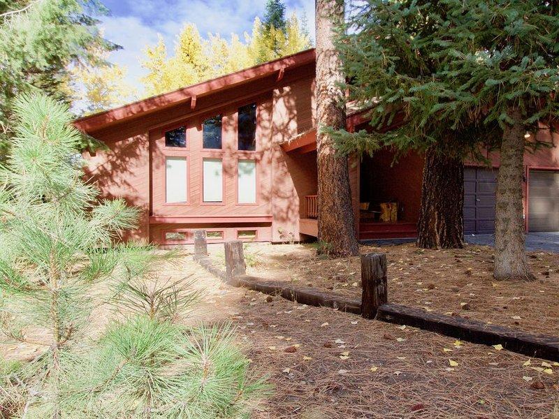 Spacious home w/fireplace, deck & grill - walk downtown, dogs OK, location de vacances à Lake Fork