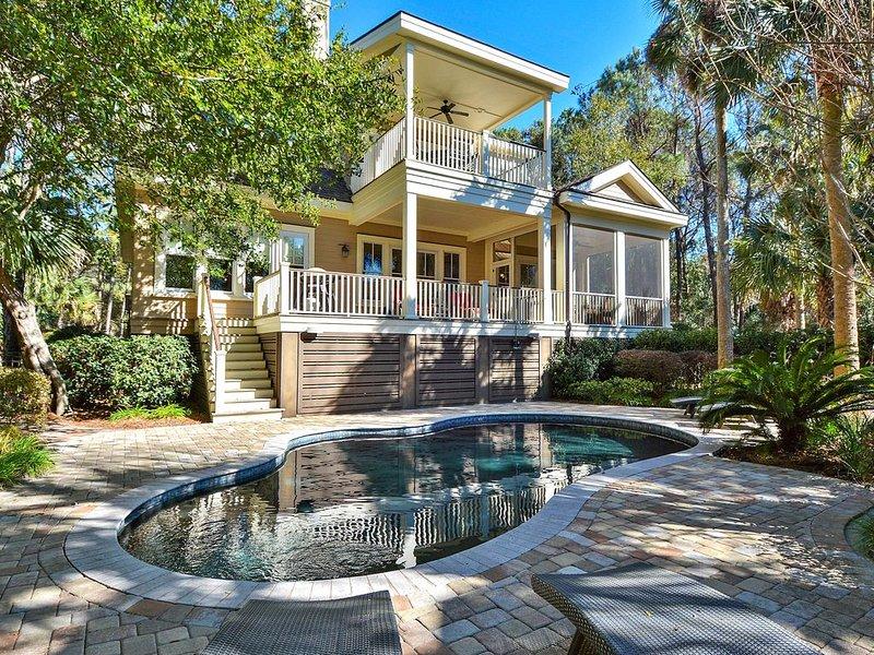 Spectacular house w/pool & entertainment-near tennis, golf & beach, alquiler de vacaciones en Kiawah Island