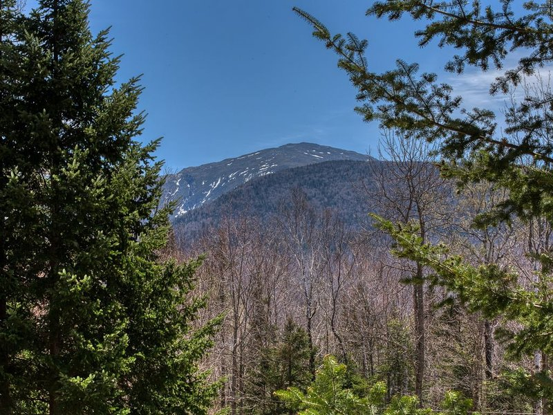 Lovely home w/ incredible Presidential Range view-2 dogs welcome, holiday rental in Twin Mountain
