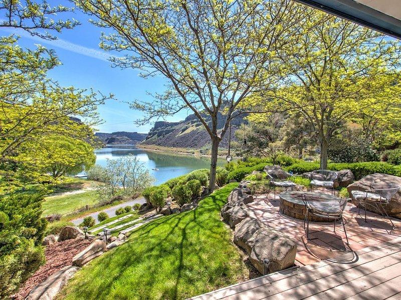 River View Cabana - Great Family escape! Sleeps12/Hot Tub, location de vacances à Twin Falls