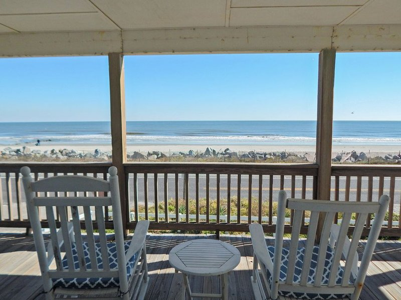 Foose's Folly ~ Another of Follys Best Ocean Front at the Washout, holiday rental in Folly Beach