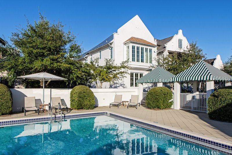 4bed/4bath by Cabana Pool W/Private Pool. 4 Bikes, 6 Beach Chairs, 2 Umbrellas, casa vacanza a Rosemary Beach