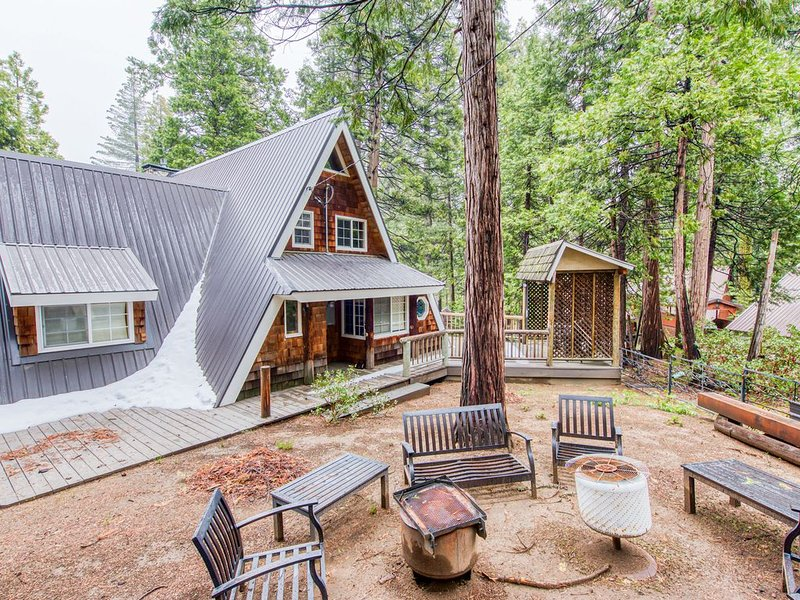 Inviting rural cabin w/modern design & near outdoor activities - dogs ok!, holiday rental in Big Creek