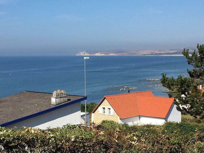 NOUVEAU : Villa Cap Gris Nez, vue exceptionnelle sur la mer avec sauna, Jacuzzi, holiday rental in Audinghen
