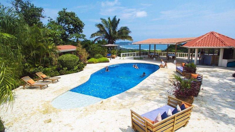 Best ocean views of Playa Guiones in all of Nosara, holiday rental in Nosara