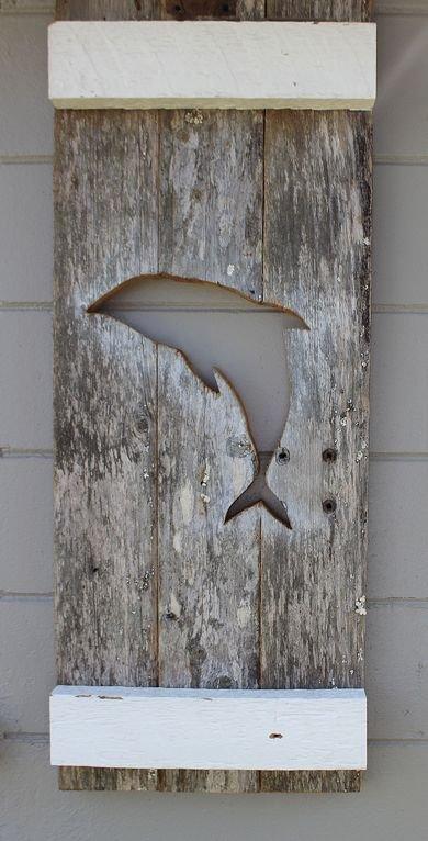 Custom dolphin shutters