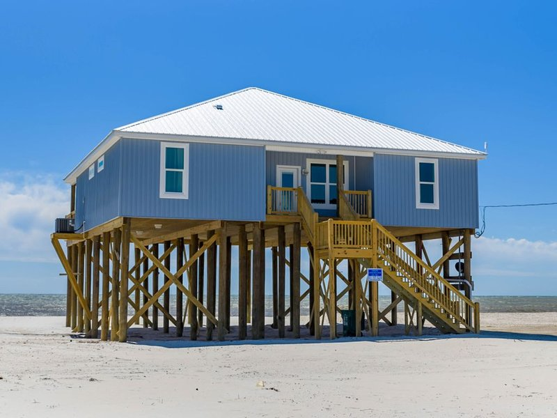 Beachfront home with massive deck, well-equipped kitchen, breathtaking views, holiday rental in Coden