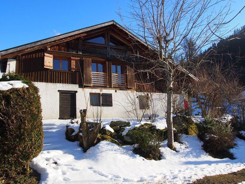 Demi chalet authentique confort Saint Nicolas de Véroce, Mont Blanc. Près pistes, location de vacances à Saint-Gervais-les-Bains