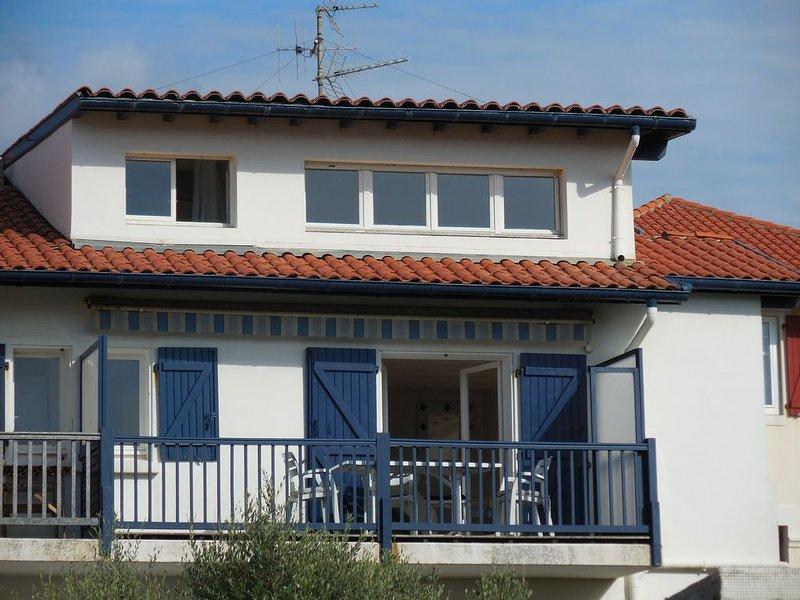 west view, sea side balcony-terrace