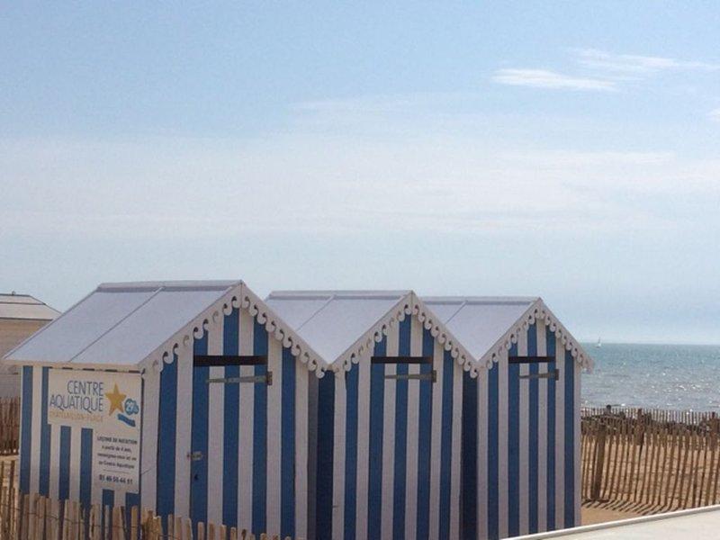 Appartement vue mer à Chatelaillon plage aux portes de La Rochelle, location de vacances à Châtelaillon-Plage