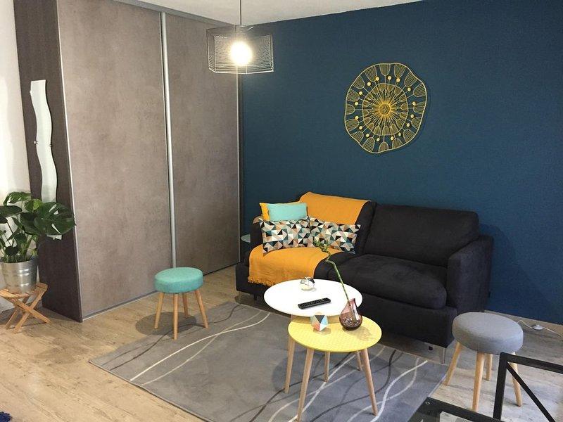 Beau studio meublé BAYONNE  Marracq, vacation rental in Bayonne