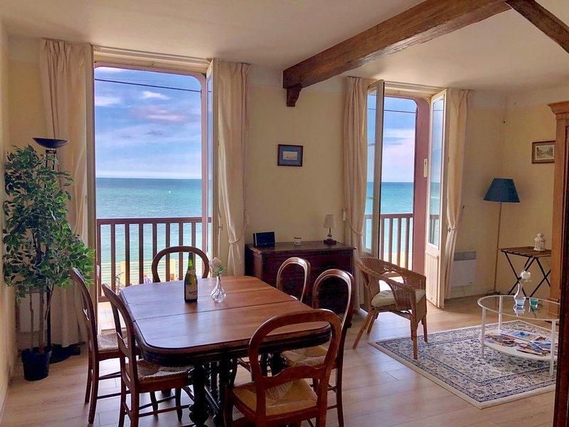 Appartement en front de mer - 55m2, holiday rental in Lion-sur-mer