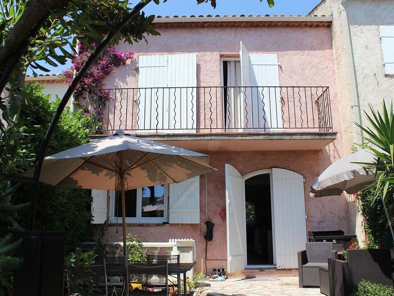 Jolie maison mitoyenne sur la cote d'Azur idéale pour les vacances, Ferienwohnung in Villeneuve-Loubet