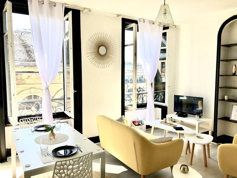 Appartement Cosy au coeur des Thermes de Contrexéville, holiday rental in Neufchateau