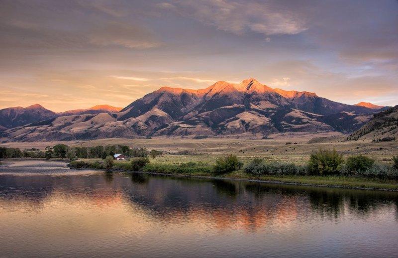 Emigrant Peak à Paradise Valley Montana