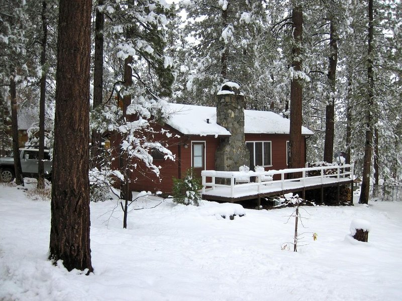 Cozy 2 Bedroom Mountain Cabin Retreat, aluguéis de temporada em Wrightwood
