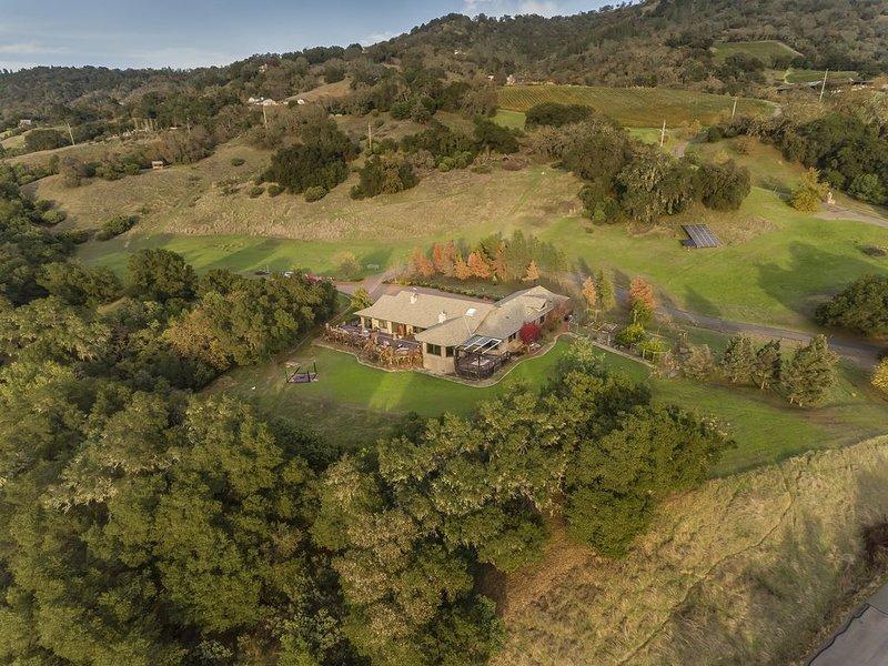 Woodhawk Manor of Alexander Valley, vacation rental in Cloverdale
