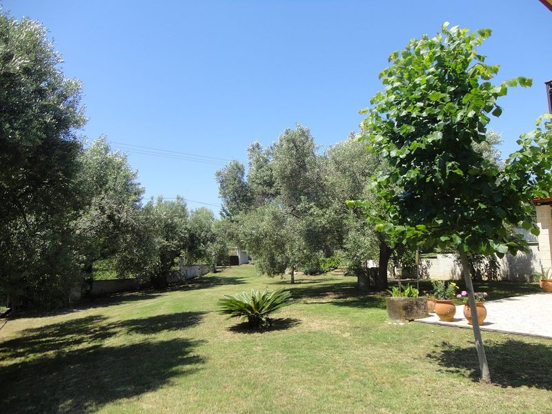 Well equipped family friendly holiday home walking distance to all amenities, holiday rental in Loutra