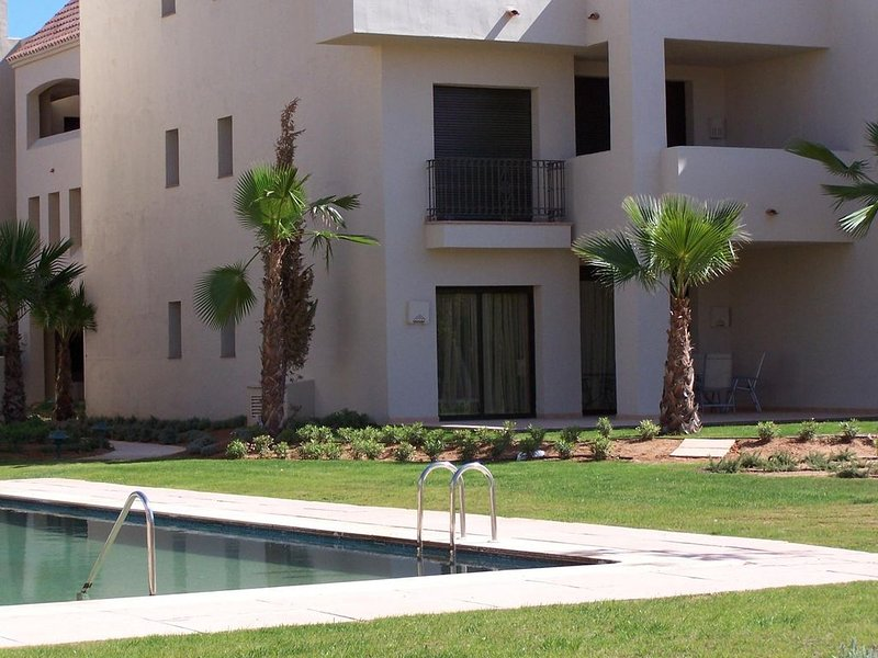 Ground Floor Poolside Apartment in Roda Golf and Beach, vacation rental in Roda