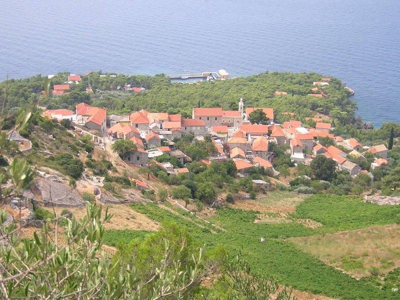 Ile de Hvar : Maison dans petit village bord de mer (Sveta Nedjelja - Hvar), casa vacanza a Sveta Nedilja