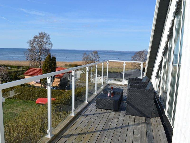 Vakantie huis  met prachtig  zeezicht (nabij Angelholm en Kullaberg / Moelle) – semesterbostad i Helsingborg