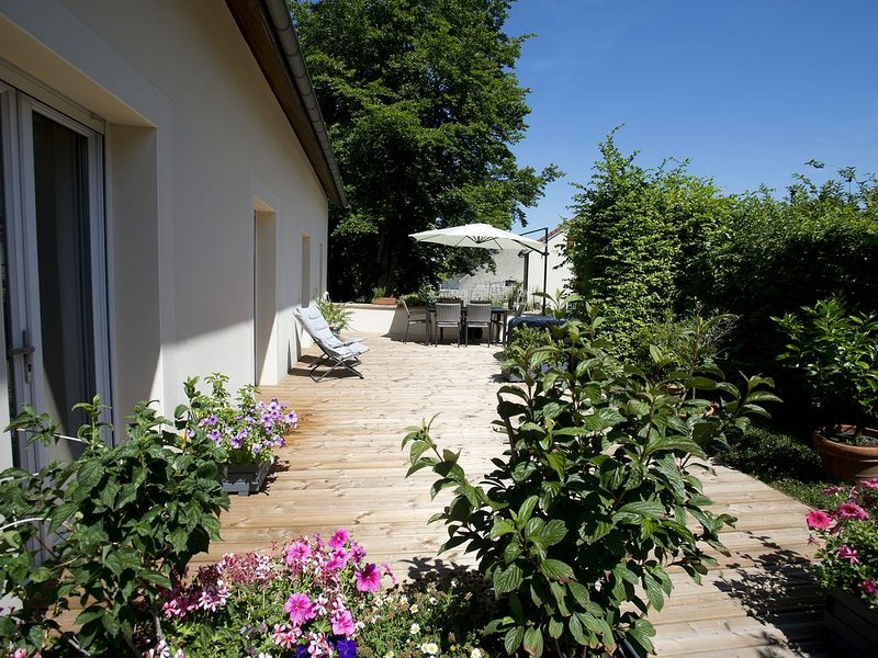 L'OEUILLADE : calme et tranquillité en Champagne, vacation rental in Marne