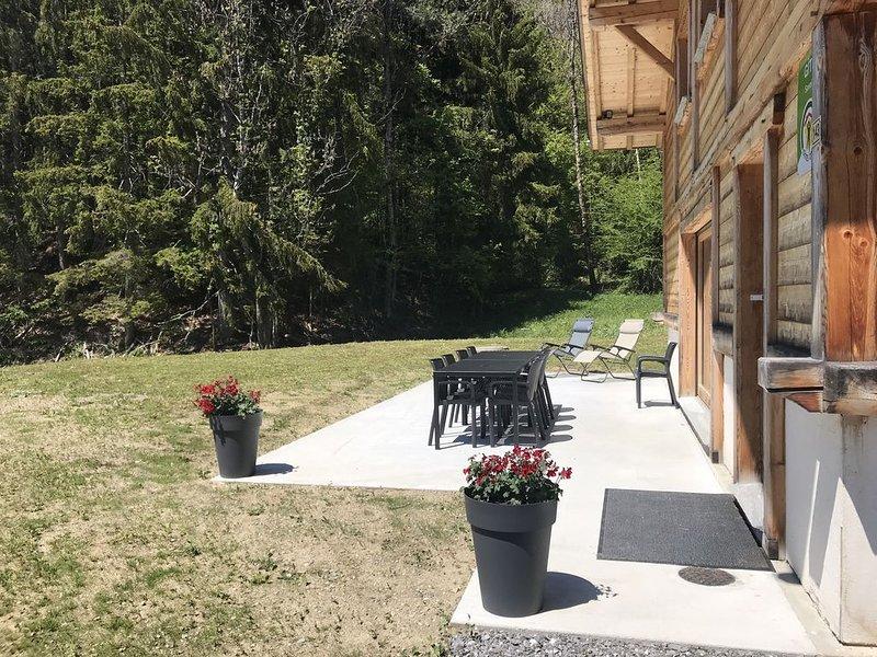 VILLARD SUR DORON Le Chalet d'Elie, holiday rental in Queige