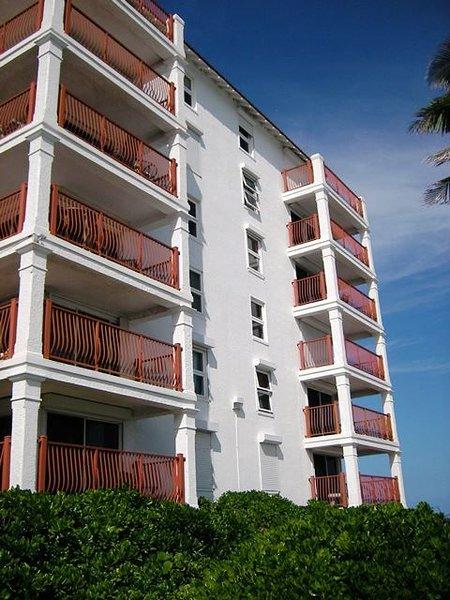 Enrouler autour du balcon