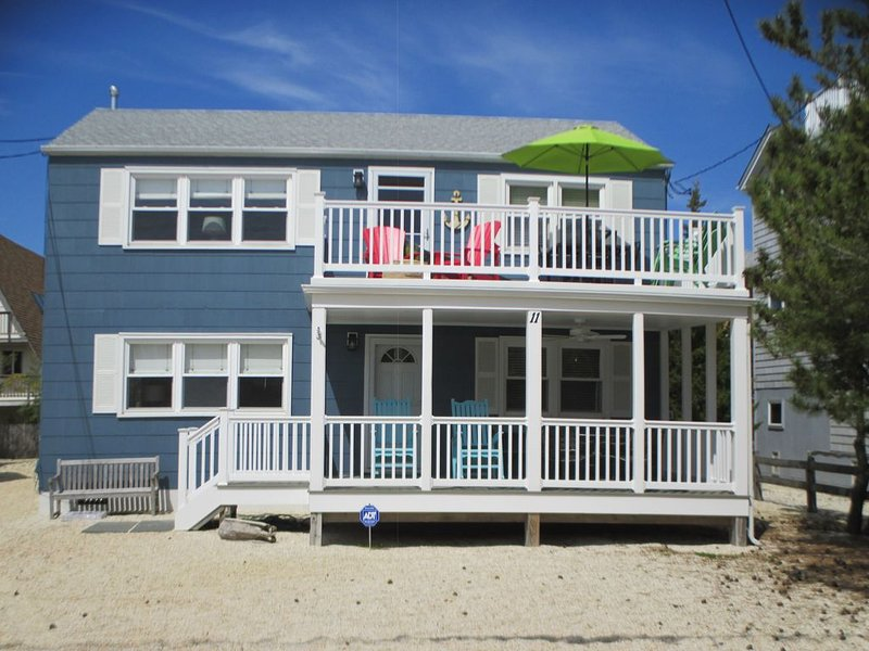 Walk to beach , bay , shopping  & restaurants , Sunset Views at end of our st, vacation rental in Harvey Cedars