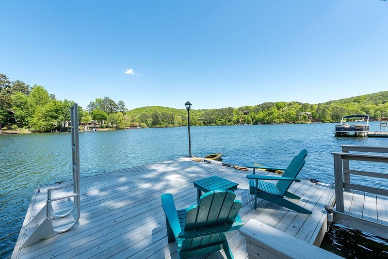 WE ARE OPEN! Lakefront Home 60 Min. from Atlanta, vacation rental in Ranger