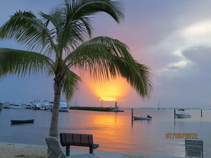 I have multiple vacation properties. This is sunset at my Islamorada place.
