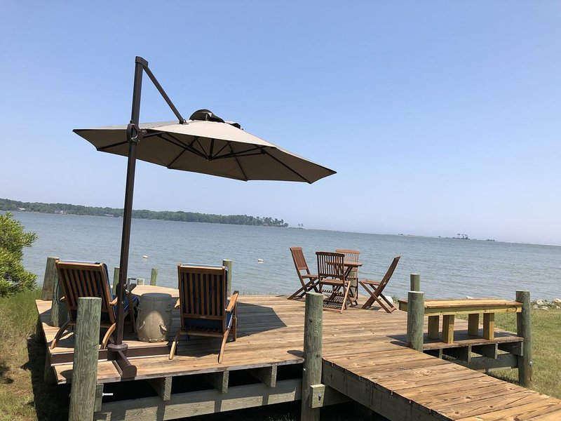Beach House on Chesapeake Bay!, holiday rental in Schley