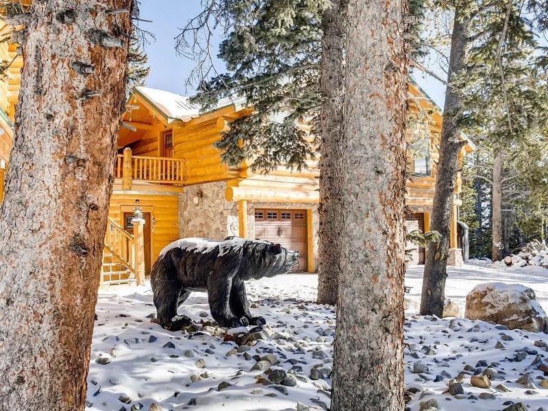The Lodge is a Cozy Log Cabin on 100+ Secluded Acres, alquiler de vacaciones en Alma