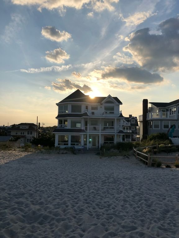 Beautiful beachfront home with tons of space.