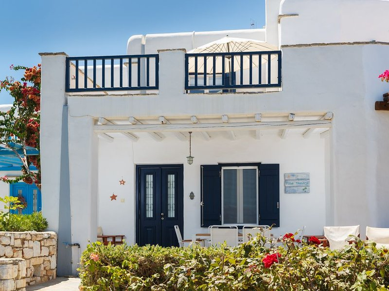 Maisonette paisible au bord de la mer aegeane, holiday rental in Ampelas