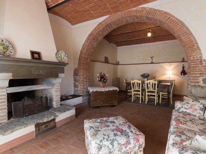 Lucignano - Country house accogliente e riservata, holiday rental in Rigomagno