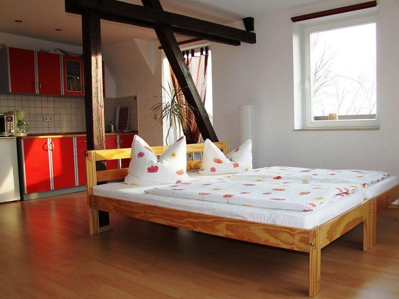 Ferienwohnungen im Forsthaus Knautkleeberg, location de vacances à Neukieritzsch