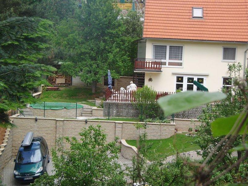Haus mit großer Terrasse und Pool für Stadt und Natururlaub, Ferienwohnung in Region Süd-Mähren