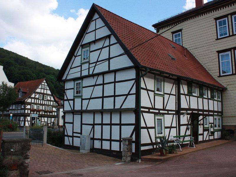 Willkommen in unserer Ferienwohnung im schönen Ruhla im Thüringer Wald, holiday rental in Hoerselberg-Hainich