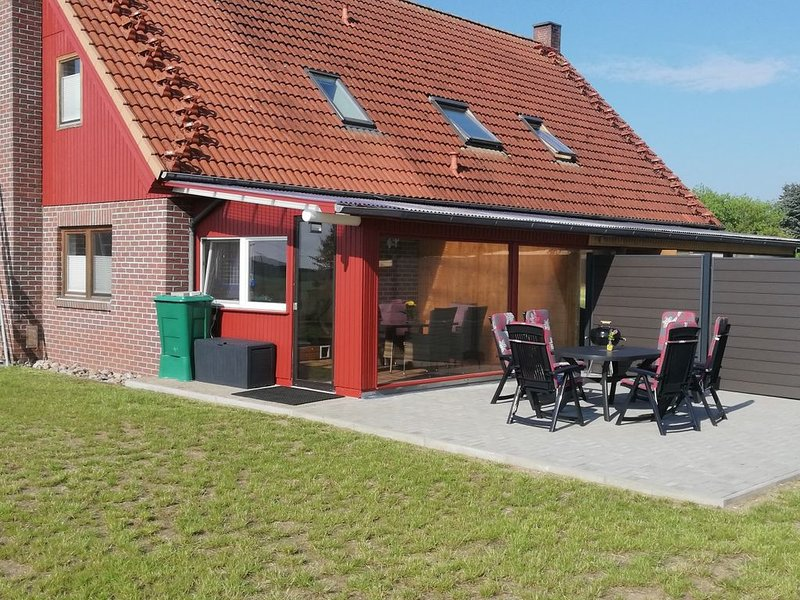 Ferienhaus, 66m², mit großzügigen Außenbereich, casa vacanza a Muhl Rosin
