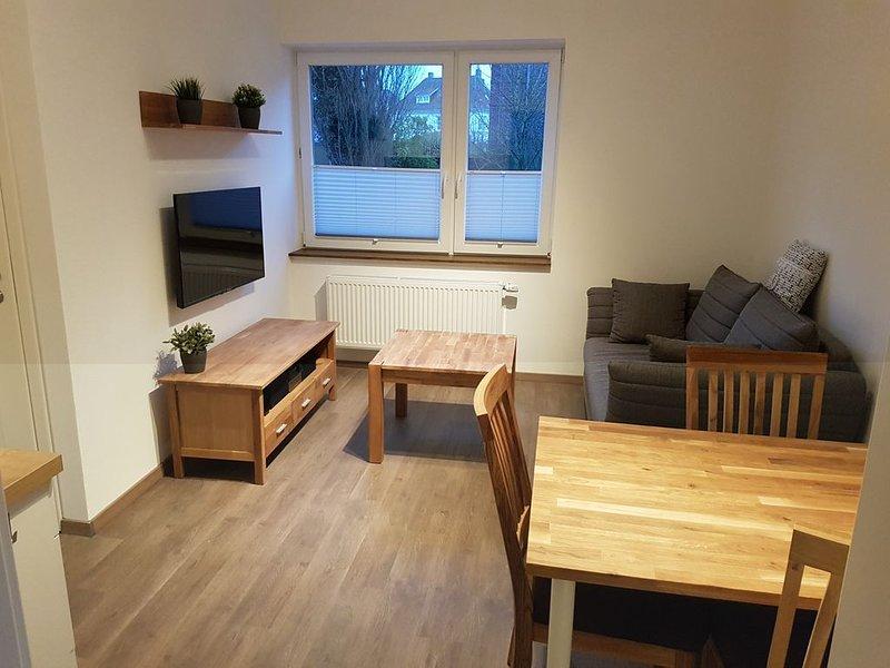Kleine, moderne Ferienwohnug für zwei Personen, location de vacances à Borkum