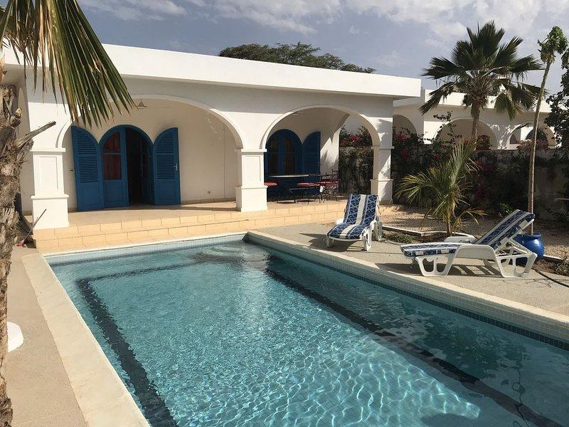 Belle villa somone avec piscine privée, vacation rental in La Petite Cote