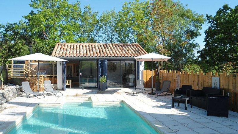 Gîte douillet avec son espace bien être, vacation rental in Labastide-de-Penne