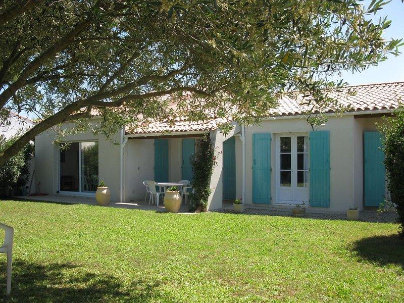 Maison de vacances/Plage de la Cible/ILE DE RE/Saint-Martin de Ré, location de vacances à Saint Martin de Re